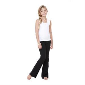 Girl's Cotton Spandex Dance Pant