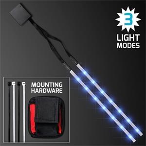 Blue LED Tape Light Strips for Bike Frame