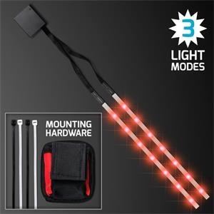 Red LED Tape Light Strips for Bike Frame