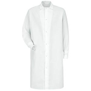 Gripper Front Butcher Coat - No Pocket