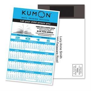 Magnetic Stick-Up Card - Calendar - Full Color