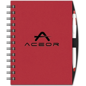 Value Book - Note Pad w/ Pen Port & Cougar Pen