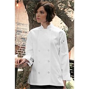 Le Mans Women's Basic Chef Coat