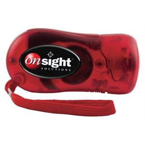 Battery-Free LED Emergency Flashlight