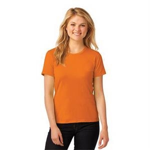 Anvil Ladies 100% Combed Ring Spun Cotton T-Shirt.