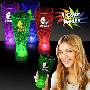 24 oz. Multi Colored Light Up LED Pilsner