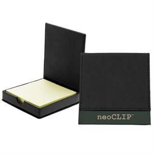 The Campania Flip Top Sticky Note Holder