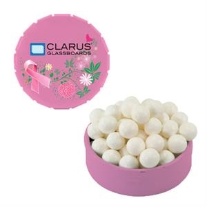 Breast Cancer Awareness Tin with Signature Peppermin