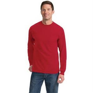 Port & Company (R) Long Sleeve Essential T-Shirt with Pocket
