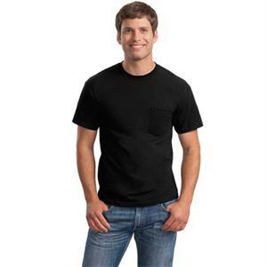 Gildan - Ultra Cotton 100% Cotton T-Shirt with Pocket.