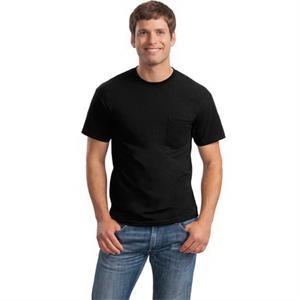 Gildan - DryBlend 50 Cotton/50 Poly Pocket T-Shirt.