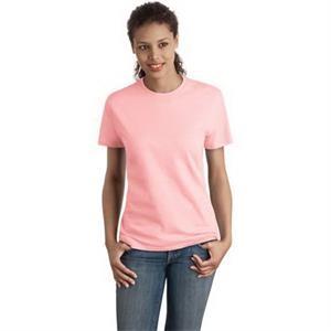 Hanes - Ladies Nano-T Cotton T-Shirt.