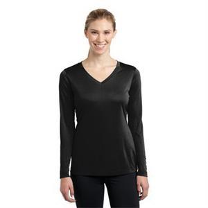 Sport-Tek Ladies Long Sleeve PosiCharge Competitor V-Neck...