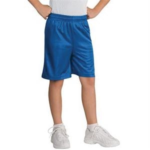 Sport-Tek Youth PosiCharge Classic Mesh Short.