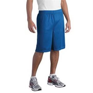 Sport-Tek Long PosiCharge Classic Mesh Short.
