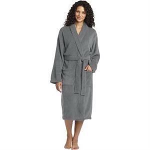 Port Authority Plush Microfleece Shawl Collar Robe.