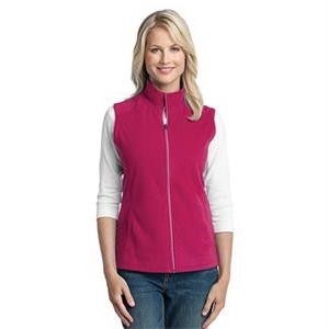Port Authority Ladies Microfleece Vest.