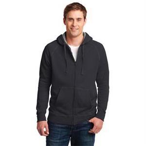 Hanes Nano Full-Zip Hooded Sweatshirt.