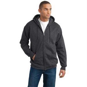 Hanes Ultimate Cotton - Full-Zip Hooded Sweatshirt.