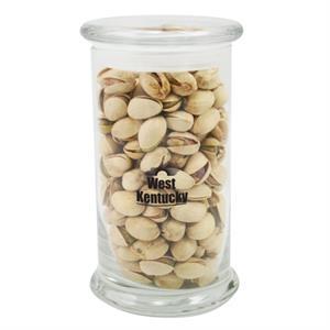 8.5 oz. Pistachios in Glass Status Jar