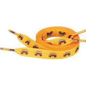 """Full Color Shoelaces - 1/2\""""W x 40\""""L"""