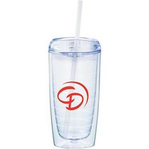 Twister 16oz Tumbler with Straw