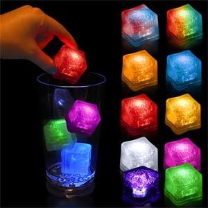 Premium Lited Ice LED Light-Up Ice Cubes - Blank