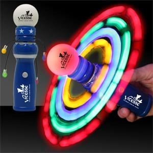 LED Light Up Glow Galaxy Spinner Wand