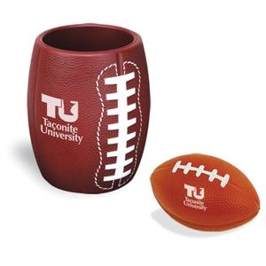 Football in Can Holder Combo