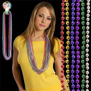 "Multi Bead 7 MM 33"" Necklace"