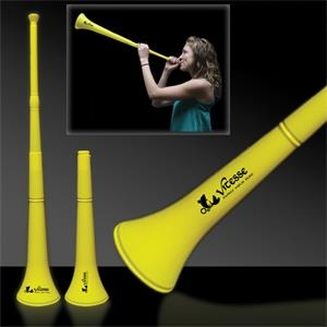 Yellow Collapsible Stadium Horn