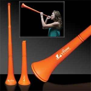 Orange Collapsible Stadium Horn