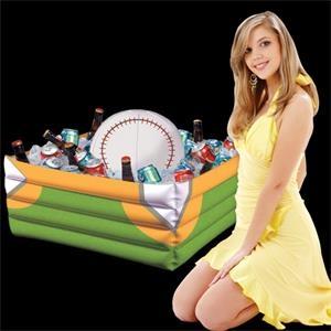 Inflatable Baseball Fan Cooler