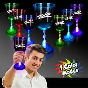 10 oz. Wine Glass with Multi-Color LED Lights