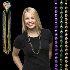 Disco Style Round Beads
