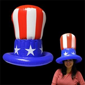 "Uncle Sam Inflatable 18"" Top Hat"