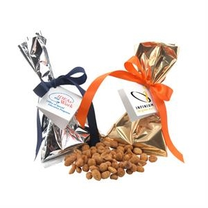 Honey Roasted Peanuts Favor/Mug Stuffer Bags with Ribbon