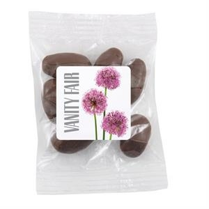 Bountiful Bag with Chocolate Almonds Candy- Full Color Label