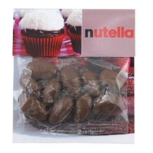 Large Billboard Full Color Header Bag with Chocolate Almonds