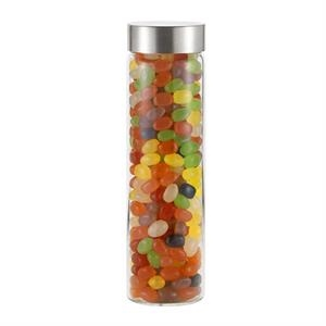 20 oz Wide mouth Glass Bottle Veranda w/ Jelly Beans