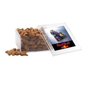 Almonds in a Clear Acrylic Large Box