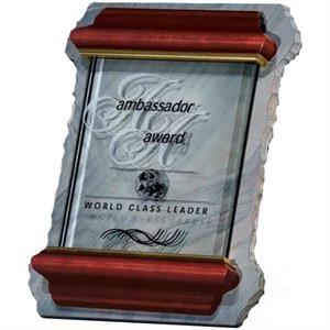 Glass/Slate Plaque