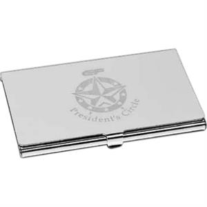 Peerless II Business Card Case with Pouch