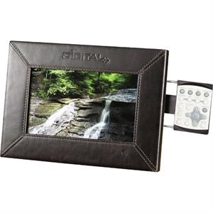"7\"" Leather Digital Photo Frame - 1GB Memory"