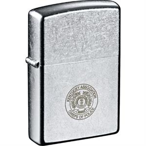 Zippo(R) Windproof Lighter Street Chrome