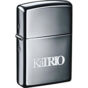 Zippo(R) Windproof Lighter Black Ice