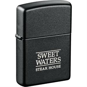 Zippo(R) Windproof Lighter Black Matte