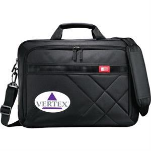 """Case Logic(R) Cross-Hatch 17\"""" Computer Briefcase"""