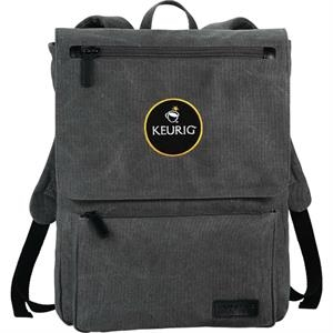 "Kenneth Cole(R) Canvas 15"" Computer Backpack"
