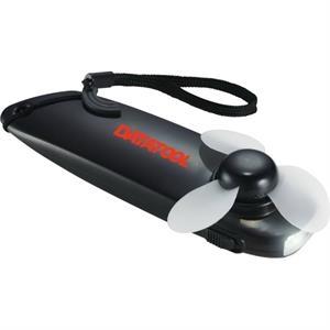 Wind-Up Mini Fan with Light